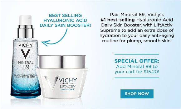 Vichy Best Sellers Set - Mineral 89 + LiftActiv