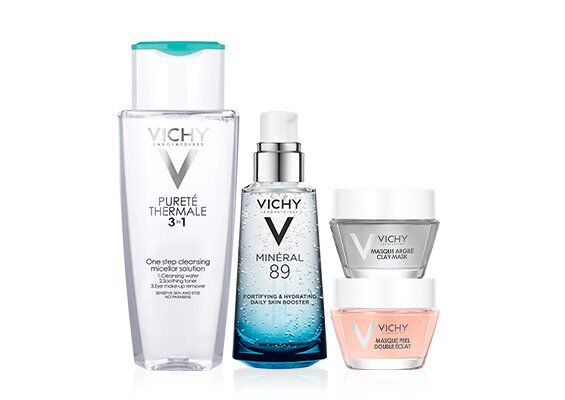 Mineral 89 Purete Thermale French Skin Care Kit - Vichy Laboratories