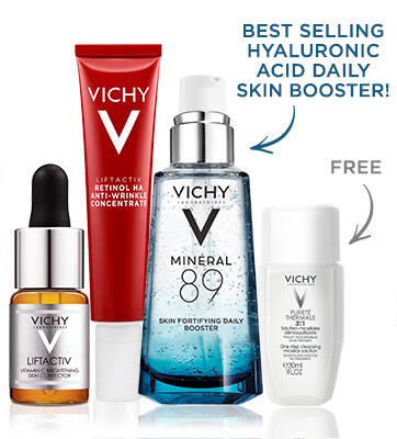 Vitamin C + Retinol + Hyaluronic Acid Anti-Aging Set - Vichy Skin Care