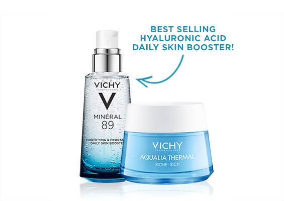 Mineral 89 Aqualia Riche Skin Care Kit - Vichy Laboratories
