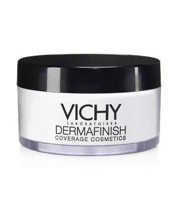 Transparent setting powder forms a protective barrier on the surface of skin. Helps strengthen and extend the hold of Dermafinish Corrective Fluid Foundation and Dermafinish Corrective Stick for up to 2 hours of additional wear.