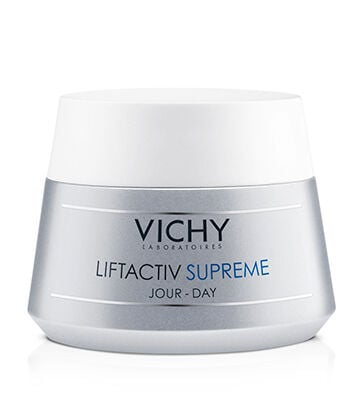 An anti-wrinkle and firming moisturizer that helps correct the visible signs of skin aging such as wrinkles, loss of firmness and tired-looking complexion. This daily hydrating formula with 5% Natural Origin Rhamnose and Vichy Volcanic Water reveals a visibly fresh and radiant complexion.