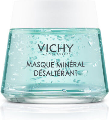 Vichy\\\'s first mineral hydrating face mask enriched with 10% Vichy Volcanic Water and soothing Vitamin B3 to act as a hydration boost for dry and uncomfortable skin.