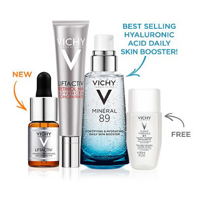 Vitamin C Retinol Hyaluronic Acid Set - Vichy Laboratories