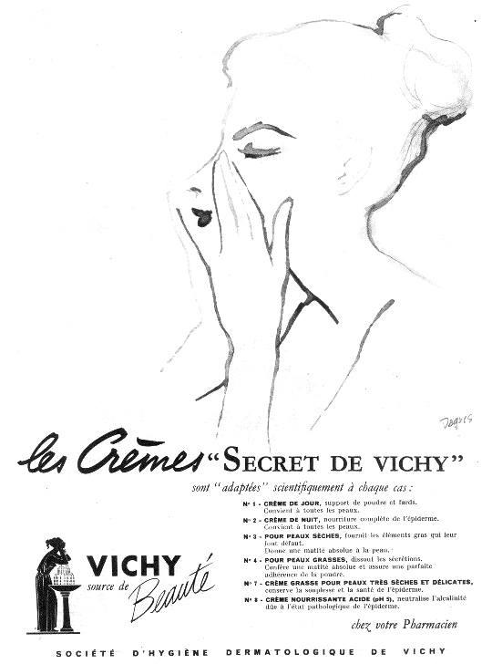 Original Vichy Secrets Skin Care