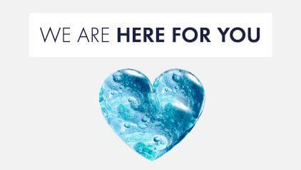 We are here for you - contact us