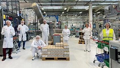 Vichy distribution center